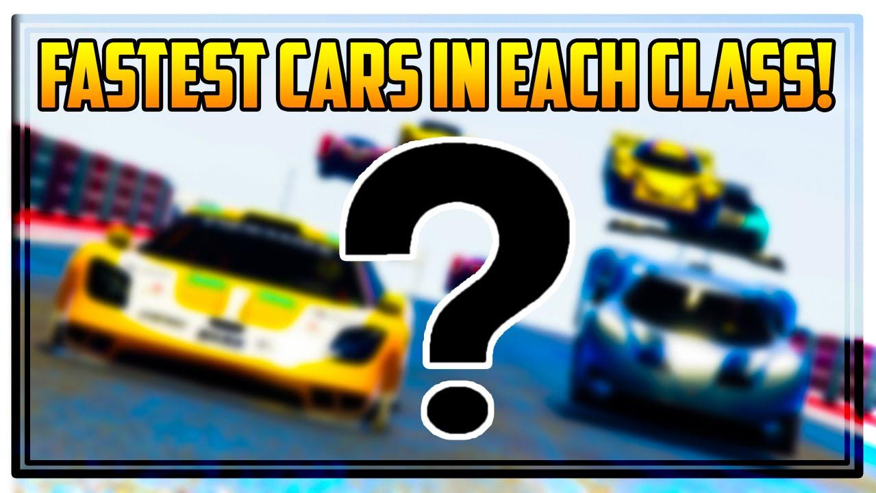 Gta Online Best Cars In Each Class