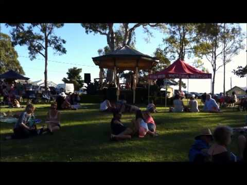 Acoustic Acts - Summer Solstice Event, Shorncliffe Rotunda 2013