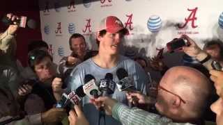 Jake Coker after Tennessee win