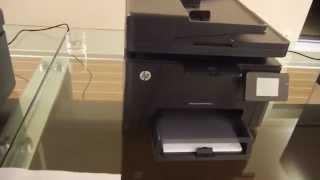 HP Color LaserJet Pro MFP M177fw Hands On
