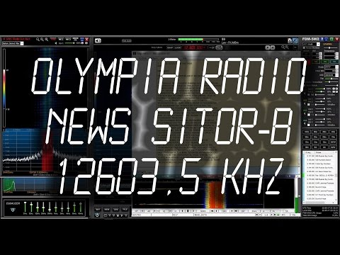 Olympia Radio (SVO), Greece, Maritime News (SITOR-B) - 12603.5 kHz