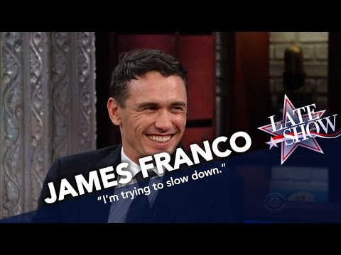 Stephen Stages An Art Intervention For James Franco