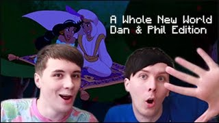 "Dan and Phil Singing "" A Whole New World"". 2011-2016"