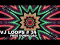 2019 Club Visuals VJ loops 34 Free Download Full HD 1080p