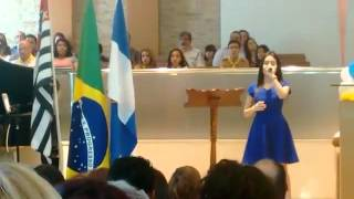 Aleluia Michely Manuely ( foi no improviso)