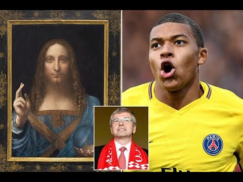 Monaco owner Dmitry Rybolovlev makes record £340million sale — but it's painting