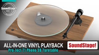 Affordable All-In-One Turntable! Pro-Ject Audio Systems T1 SB Phono (Take 2, Ep:28)