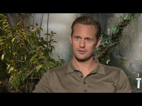 EXCLUSIVE: Alexander Skarsgard Jokes About the Origin of His 'Tarzan' Call