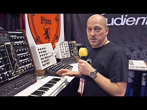 Analogue Solutions Booth @ NAMM 2017