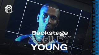 WELCOMEASHLEY  VIDEO BACKSTAGE  Ashley Young