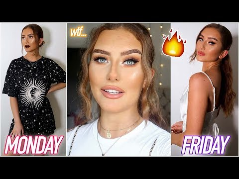 I CHANGED MY STYLE EVERYDAY FOR A WEEK - CLOTHING HAUL 2019 ad | Hannah Renée