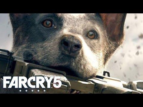 FAR CRY 5 *NEW* WINGSUIT, HURK FROM FAR CRY 3 & ZIPLINING!   Walkthrough Gameplay (PS4 Pro)