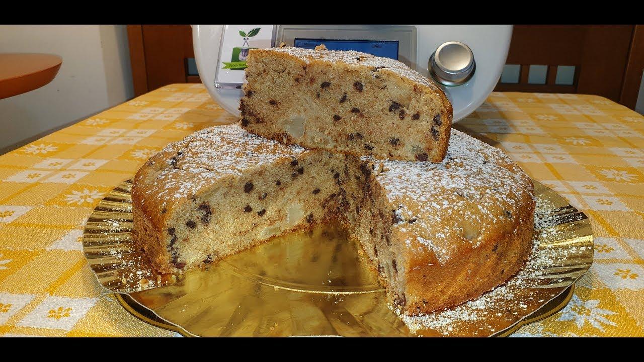 Ricetta Torta Pere E Yogurt Bimby.Torta Allo Yogurt Con Pere E Cioccolato Per Bimby Tm6 Tm5 Tm31 Youtube