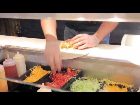 UW Oshkosh Food: (Legendary) Buffalo Chicken Wraps