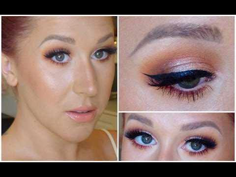 Peachy Keen // Glam & Flirty Makeup Tutorial