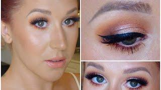 Peachy Keen // Glam & Flirty Makeup Tutorial