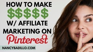 Pinterest Affiliate Marketing Without A Blog | Affiliate Marketing 2020 | Pinterest Traffic