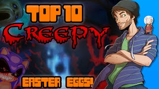 Top 10 Creepy Easter Eggs in Video Games! - Spacehamster
