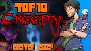 Top 10 Creepy Easter Eggs In Video Games! - Spacehamster