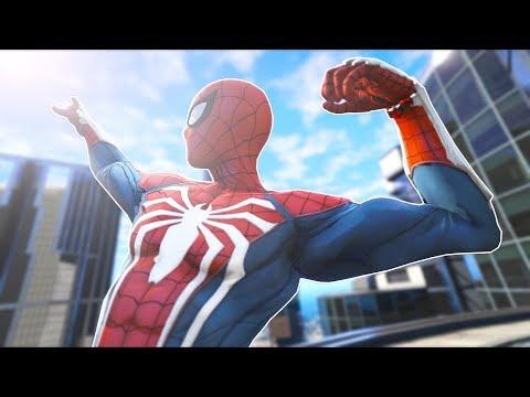 I Played As SPIDERMAN... SORRY Los Santos!! (GTA 5 Mods - Evade Gameplay)