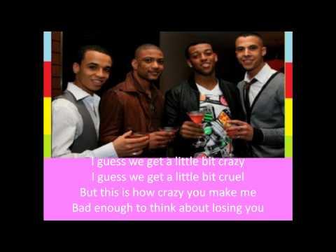 JLS - Crazy For You Lyrics Video
