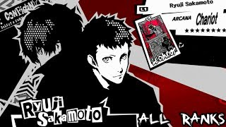 Video Persona 5 - Chariot Confidant: Ryuji Sakamoto (All Ranks) download MP3, 3GP, MP4, WEBM, AVI, FLV Agustus 2017
