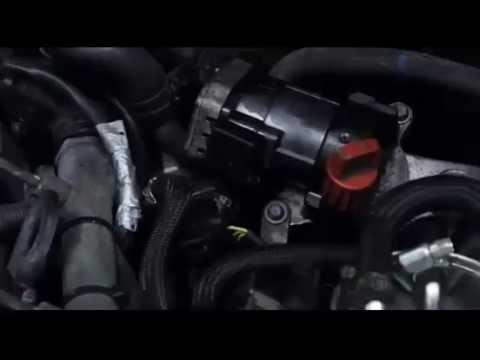 Mercedes W203 naprawa EGR (EGR repair)