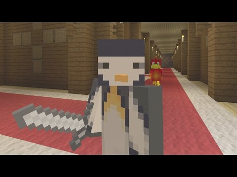 Minecraft Xbox - Murder Mystery - Woodland Mansion - I'M THE MURDERER!