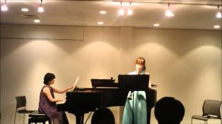 G.Fauré:Sicilienne フォーレ:シシリエンヌ *Clarinet: Haruo Inoue ...