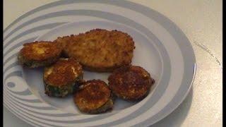 Panierte Zucchinischnitzel