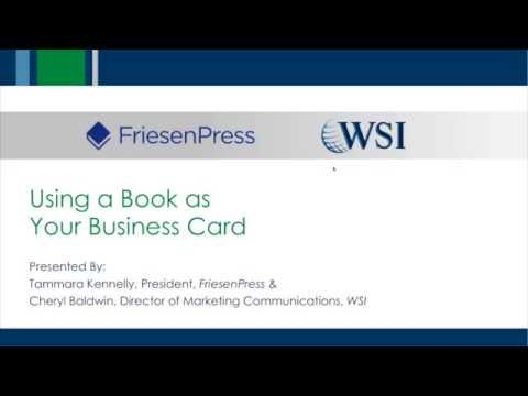 Using a Book as Your Business Card (Webinar Recording)