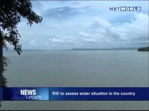 RID to assess water situation in the country