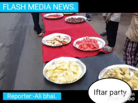 dawat-e-ifftar party programme jahanuma hyd/flash media news.com/Reporter:-Ali bhai.
