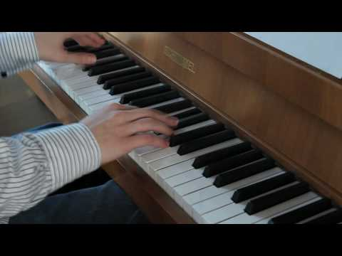 Rain (full-version, Deference for Darkness) on piano