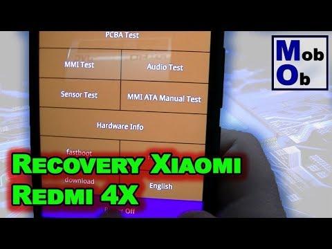 Recovery Xiaomi Redmi 4x // Mi Recovery 3.0