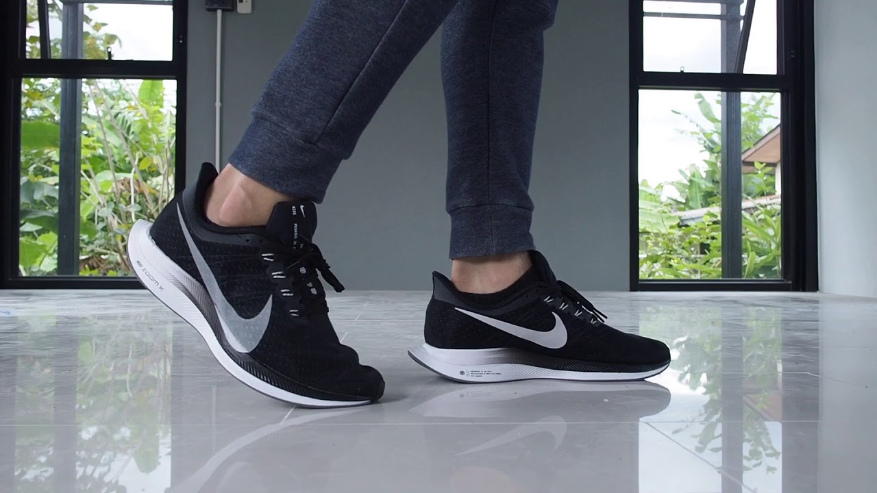 separation shoes 1c5b9 78b5f Nike Zoom Pegasus Turbo Black on Feet
