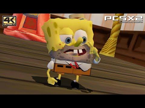 The SpongeBob SquarePants Movie - PS2 Gameplay UHD 4k 2160p (PCSX2)