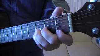 Изгиб гитары желтой (как играть на гитаре) #ялюблюгитару
