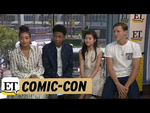 ComicCon 2018: The Cast of The Darkest Minds Explain Their Character's Powers