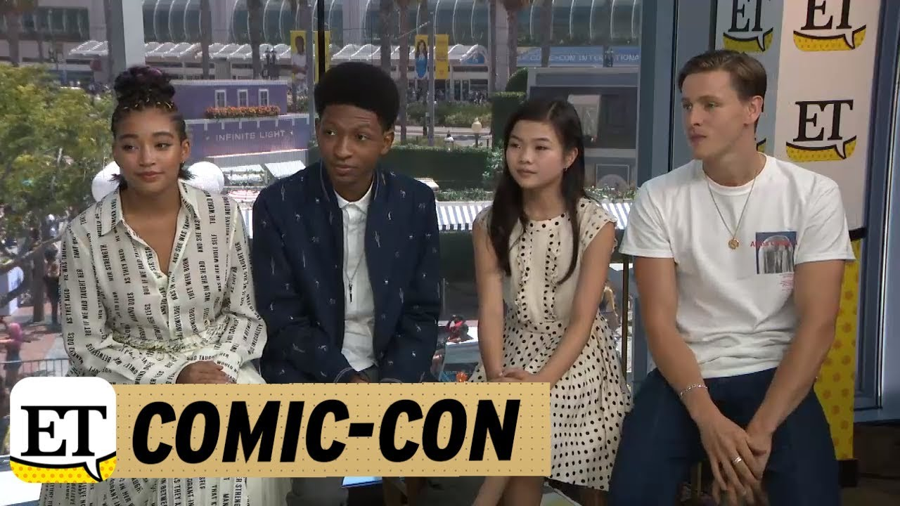 Download Comic-Con 2018: The Cast of The Darkest Minds Explain Their Character's Powers