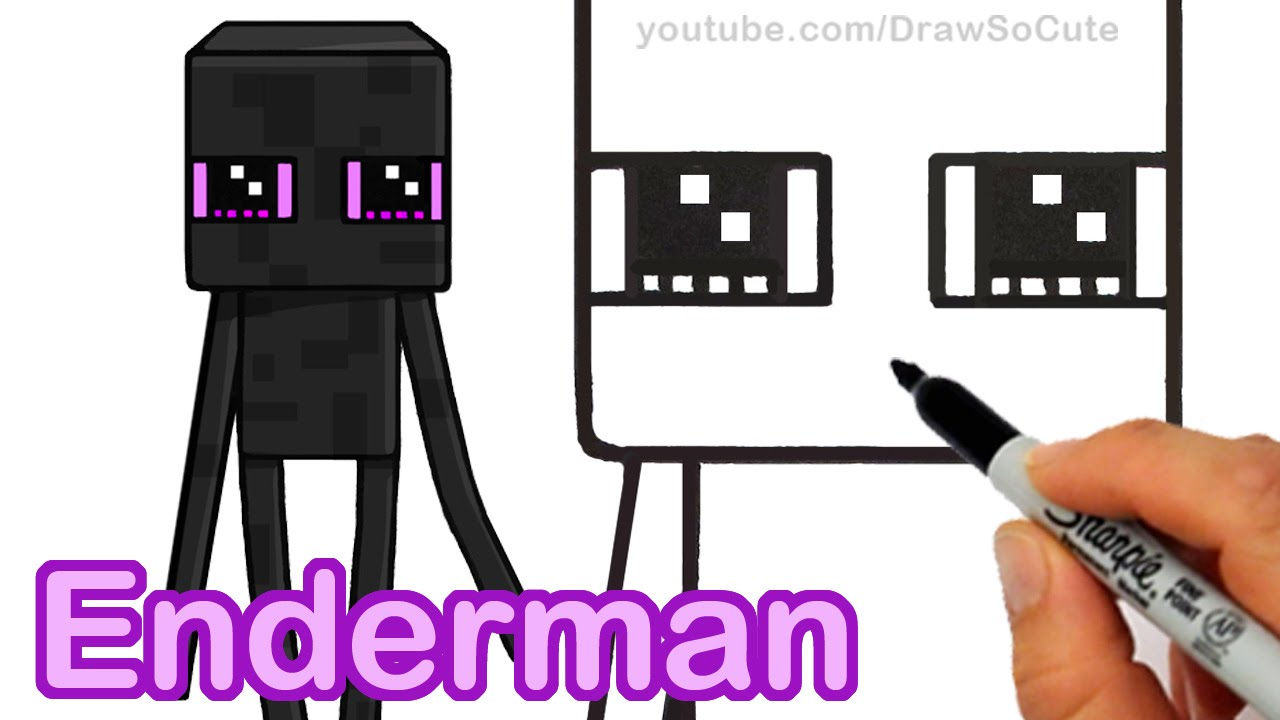 minecraft enderman skin girl