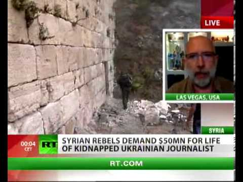 Gilbert Mercier of NEWS JUNKIE POST discusses Syria on RT, December 14, 2012