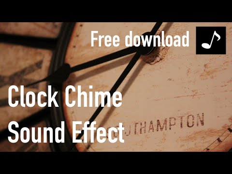 Clock Chime Sound Effect