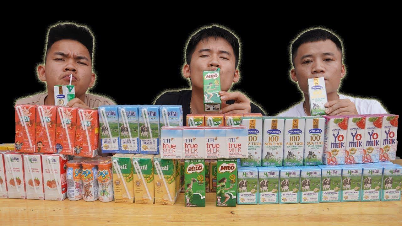 Hưng Troll | Thử Thách Người Cuối Cùng Ngừng Uống Sữa Tươi Thắng Nhận 10 Triệu