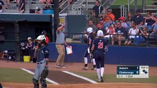 Auburn Softball at Chattanooga Highlights Game 2
