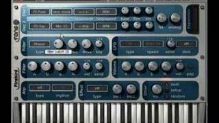How to Make a Bass Sound in Tone2 FireBird - VSTi Plugins