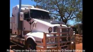 Repeat youtube video RoadTrains on Outback Australia SelMcKenzie Selzer-McKenzie