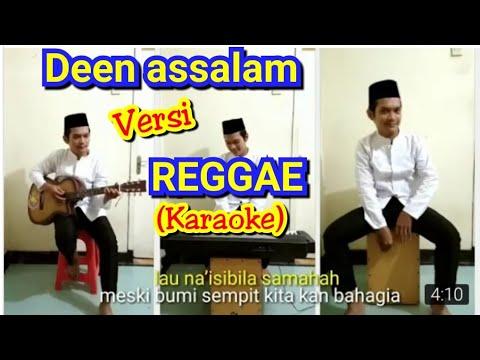 DEEN ASSALAM sabyan versi Reggae (Karaoke) - Cover by Dwi Panuntun