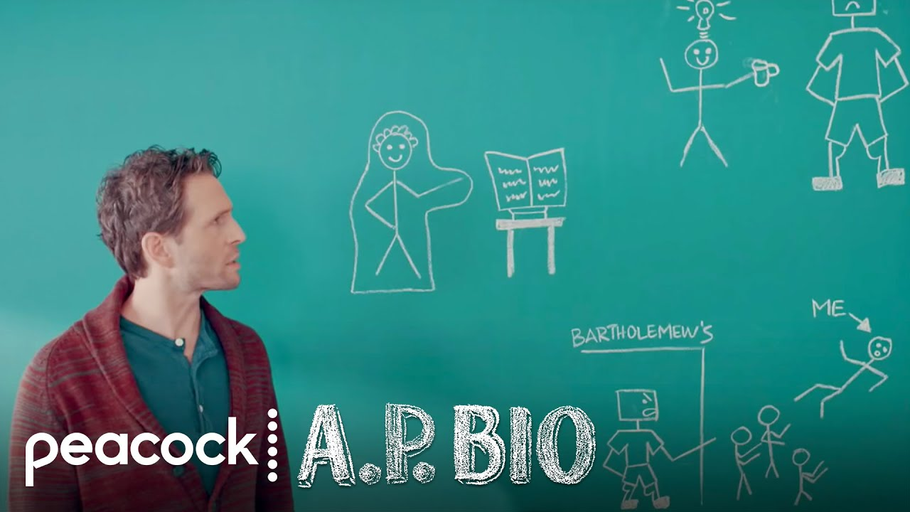 a p bio Ap bio knows what you're expecting: a bitter, caustic intellectual who, after being forced into a teaching job he finds beneath him, discovers a newfound passion and a fresh sense of.
