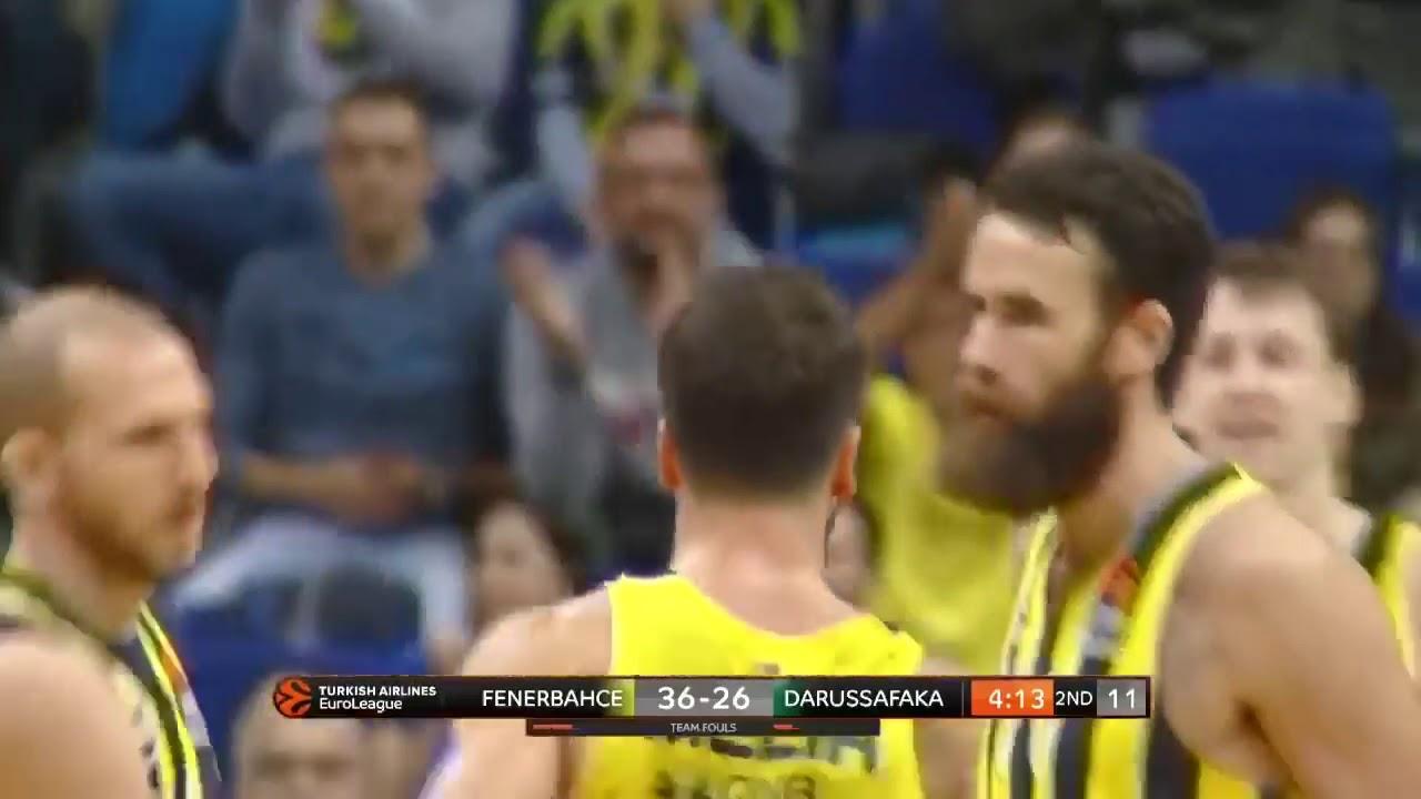 Melih Mahmutoğlu'nun 16 sayılık Darüşşafaka maçı performansı